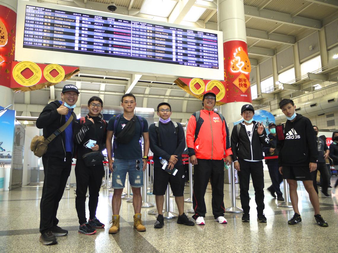 屏科大鐵人隊前往泰國羅勇挑戰亞洲盃